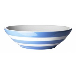 Cornishware Blue Cornishware Serve Bowl 12""