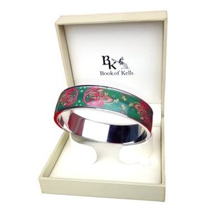 Book of Kells Book of Kells Bangle - Knot Design Thin