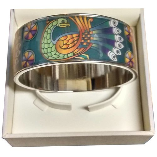 Book of Kells Book of Kells Bangle - Peacock Thick