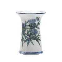 Highland Stoneware Thistle Small Cylinder Vase