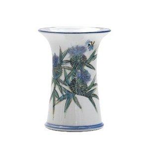 Highland Stoneware Highland Stoneware Thistle Small Cylinder Vase