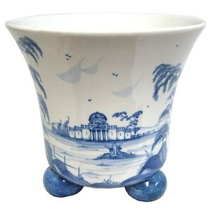 Isis Ceramics Isis Blue Palladian Small Planter