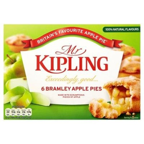 Mr. Kipling Mr Kipling Bramley Apple Pies