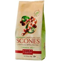 Sticky Fingers Peppermint Choc chip Scone mix