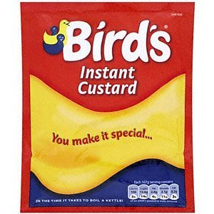 Birds Instant Custard Powder Sachet