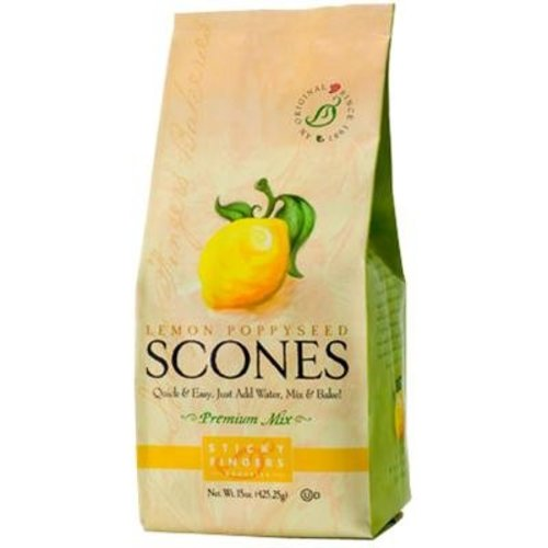 Sticky Fingers Sticky Fingers Lemon Poppyseed Scone mix