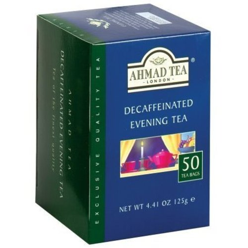 Ahmad Tea Ahmad Decaf Evening Tea 50s