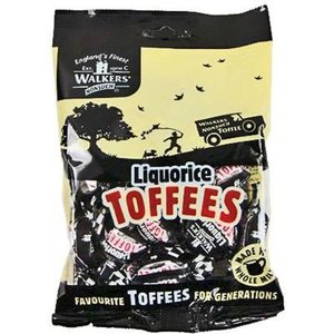 Walkers Nonsuch Walkers Nonsuch Liquorice Toffee Bag