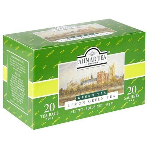 Ahmad Tea Ahmad Green Tea with Lemon 20s