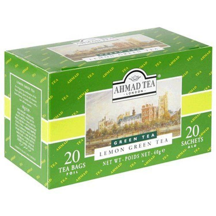 Ahmad Tea Ahmad Green Tea with Lemon 20s