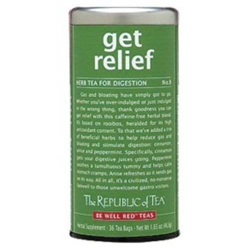 Republic of Tea Get Relief Herbal Tea