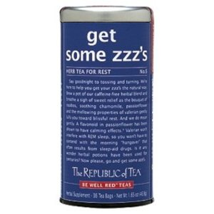 Republic of Tea Get Some ZZZs Herbal Tea
