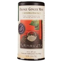 Orange Ginger Mint Tea