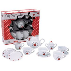 Schylling Schylling Lady Bug Tea Set