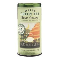 Honey Ginseng Green Tea
