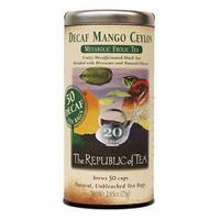 Republic of Tea Decaf Mango Ceylon Tea