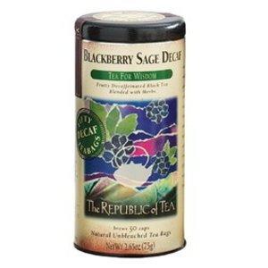 Republic of Tea Decaf Blackberry Sage Tea
