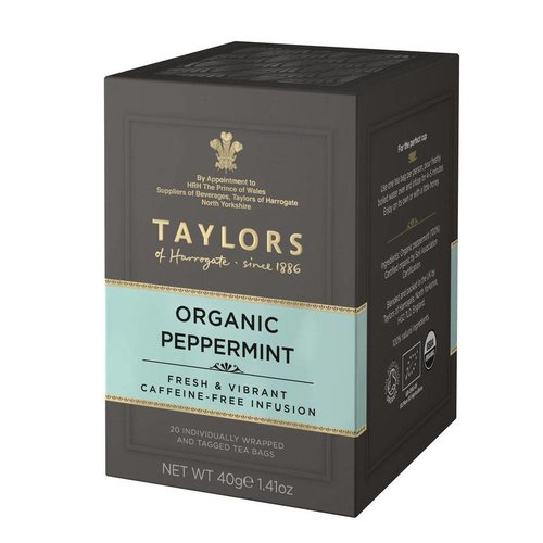 Taylors of Harrogate Taylors of Harrogate Organic Peppermint 20s