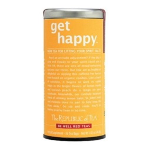 Republic of Tea Get Happy Herbal Tea