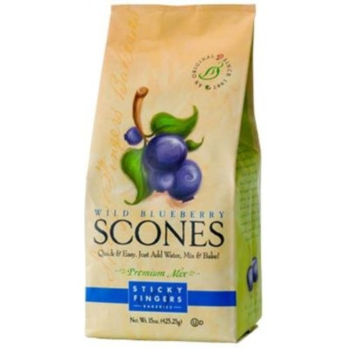 Sticky Fingers Sticky Fingers Wild Blueberry Scone mix