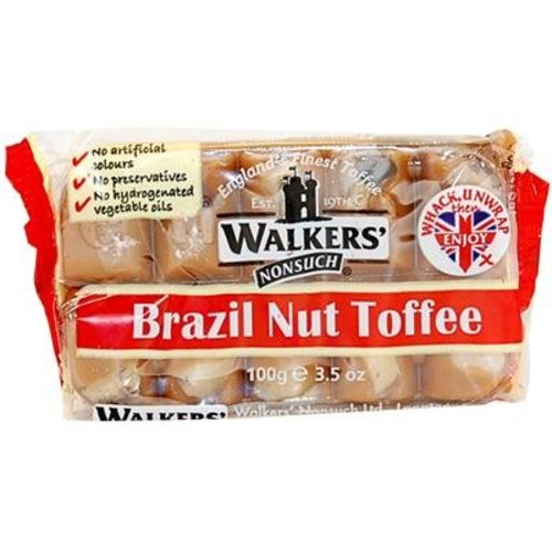Walkers Nonsuch Walkers Nonsuch  Brazil Nut Toffee - 100g
