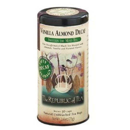 Republic of Tea Decaf Vanilla Almond Tea