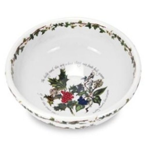 Portmeirion Holly & Ivy Salad Bowl 9""
