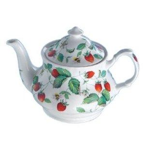 Alpine Strawberry Teapot