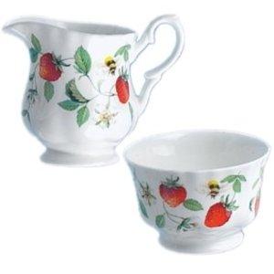 Alpine Strawberry Cream and Sugar