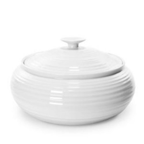 Portmeirion Sophie Conran Low Covered Casserole - White