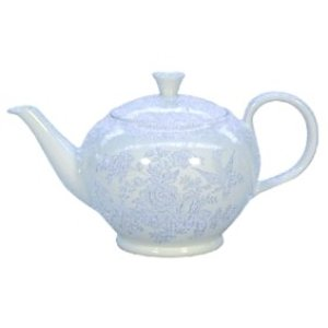 Burleigh Pottery Asiatic Pheasants Blue 7 Cup (Large) Teapot