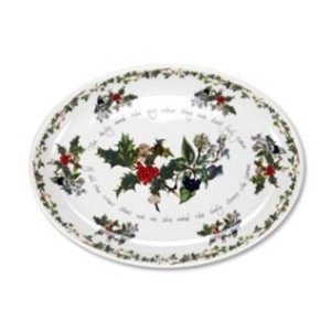 Portmeirion Holly & Ivy Turkey Platter