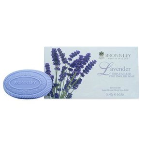 Bronnley Bronnley Lavender Box of 3 Soaps