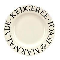 Bridgewater Black Toast 8.5'' Plate