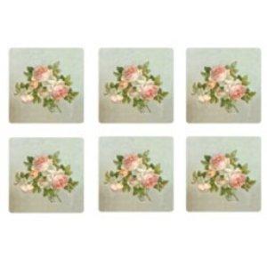 Pimpernel Pimpernel Antique Roses Coasters