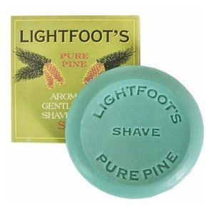 Lightfoot's Soap Lightfoot's Pure Pine Shave Creme Soap