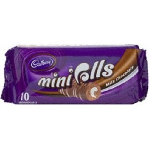 Cadbury Cadbury Mini Rolls Milk Chocolate
