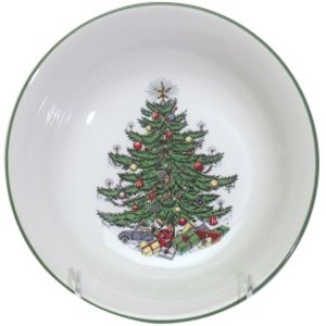 Cuthbertson Christmas Tree Cereal Bowl