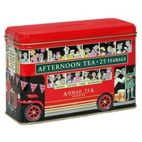 Ahmad English Breakfast London Bus Tin