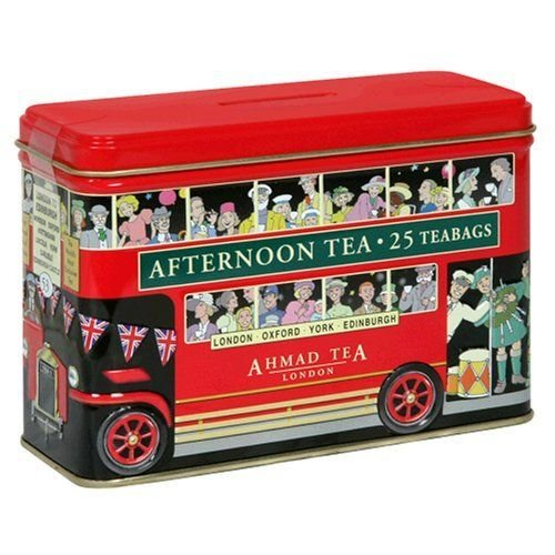 Ahmad Tea Ahmad English Breakfast London Bus Tin