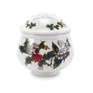 Portmeirion Holly & Ivy Covered Sugar