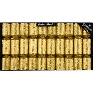 Robin Reed Robin Reed All Gold Christmas Crackers