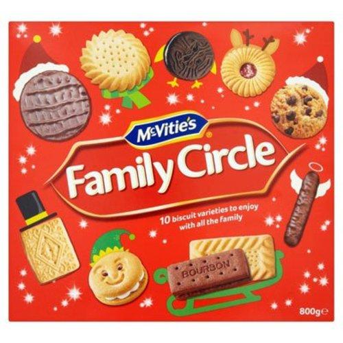 McVitie's McVities Family Circle Biscuit Box