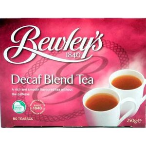 Bewley's Tea of Ireland Bewley's Decaf Blend Tea 80s