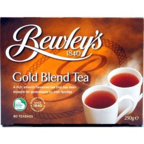 Bewley's Tea of Ireland Bewley's Gold Blend Tea 80s