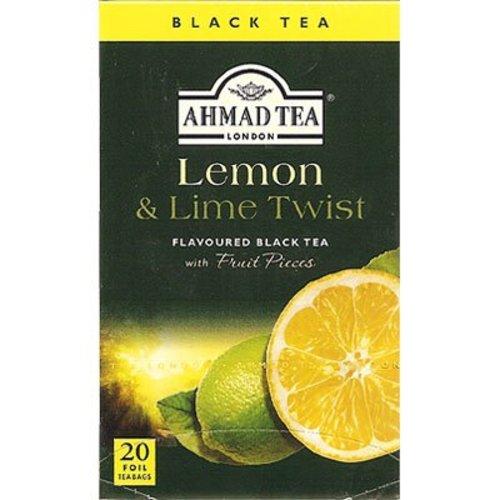 Ahmad Tea Ahmad Lemon and Lime Twist 20s