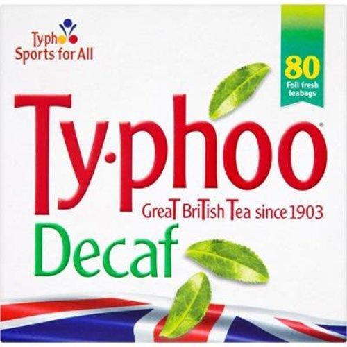 Typhoo Typhoo Decaffeinated 80s