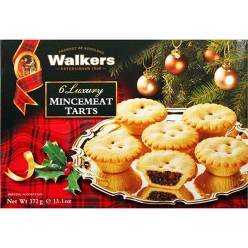 Walker's Shortbread Co. Walkers 6 Luxury Mincemeat Tarts