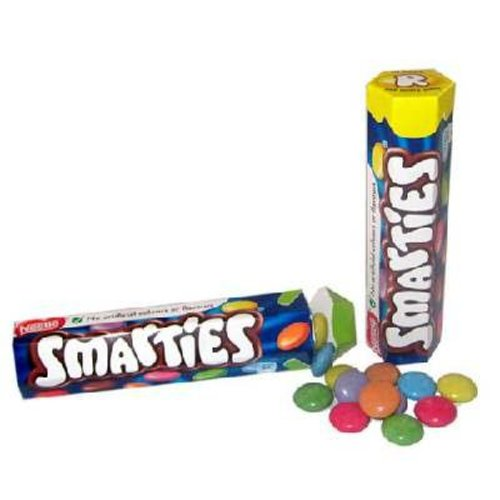 Nestle Nestle Smarties Mini Hex Tube