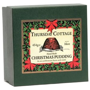 Thursday Cottage Thursday Cottage Christmas Pudding in Earthenware Basin (454g)